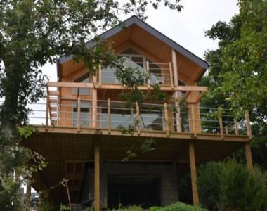 Construction d'une maison de vacances à Doische