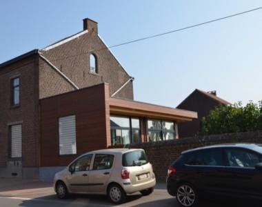 Transformation d'une habitation à Ransart