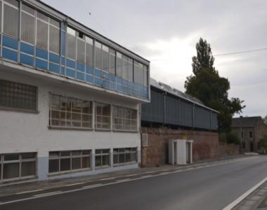 Construction d'un hangar à Fleurus