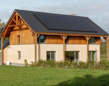 Maison bioclimatique à Nalinnes